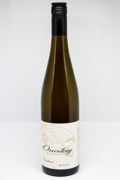 2009 Oneday Estate Riesling (semi dry)